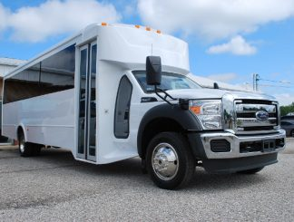22 Passenger Party Bus Rental San Antonio Texas
