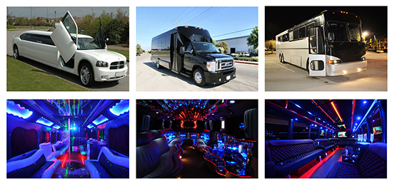 San Antonio TX Party Bus Rental