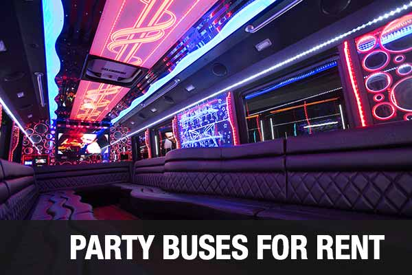 Airport Transportation Party Bus San Antonio