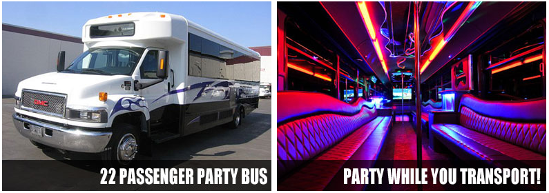 Airport Transportation Party Bus Rentals San Antonio